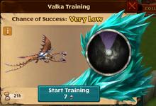 Battle Hideous Zippleback Valka First Chance