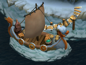 Trader Johann's Ship - winter