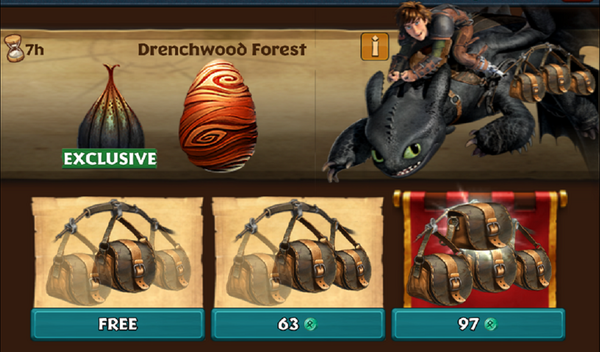 Drenchwood Forest (Special Event)