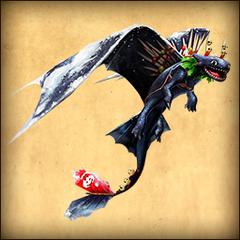 Snoggletog Toothless - FB