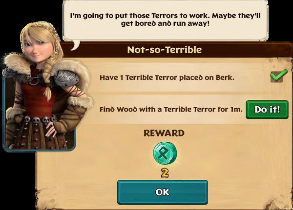 Not-so-Terrible