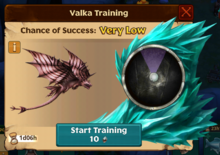 Desert Wraith Valka First Chance