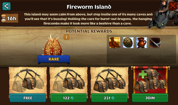 Fireworm Island
