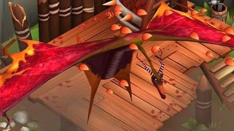 Dragons Rise of Berk - Premium Axewing Dragon!