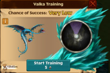 Barf & Belch's Offspring Valka First Chance