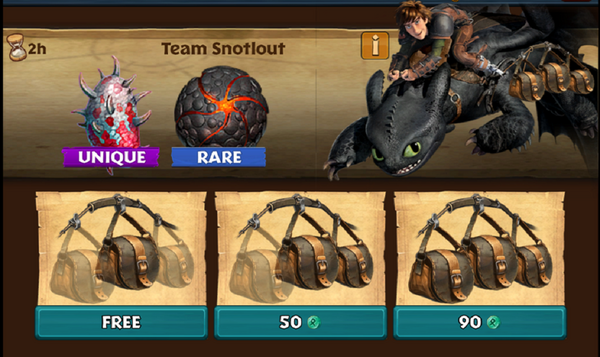Team Snotlout (Day 6)