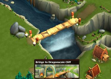 Bridge to Dragonscale Cliff