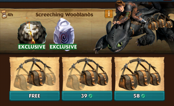 Screeching Woodlands (Trailtwister)