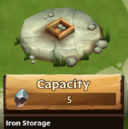 Iron Storage Lv 0