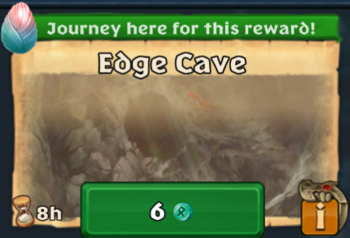 Snotlout's Journey Edge Cave