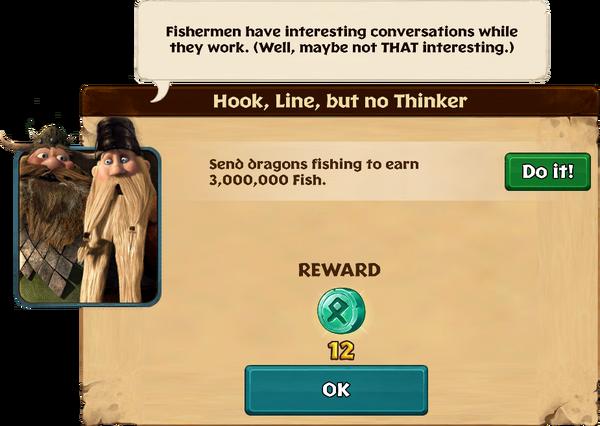 Hook, Line, but no Thinker