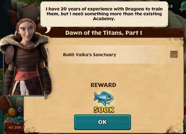 Dawn of the titans part i