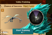 Battle Windstriker Valka First Chance
