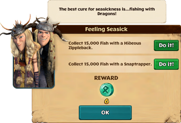 Feeling Seasick