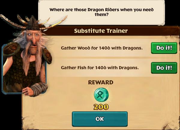 Substitute Trainer