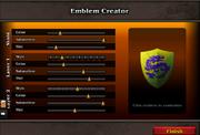 Emblem creator