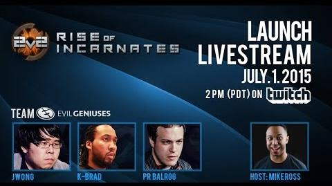 Rise of Incarnates Launch Live Stream