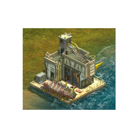 The <b>Shipyard</b> is the second upgrade to the dock. Players receive this upgrade automatically after advancing to the <a href=