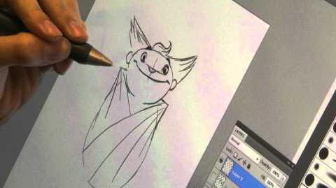 Rise of the Guardians - Drawing Tutorial - Sandman