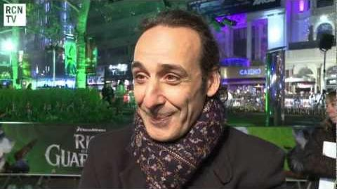 Composer Alexandre Desplat Interview Rise of The Guardians UK Premiere