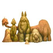 Yetis in various shapes and sizes-WJ