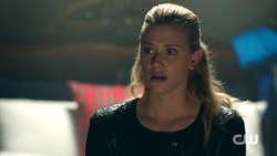 Season 1 Episode 5 Heart of Darkness Betty about to cry