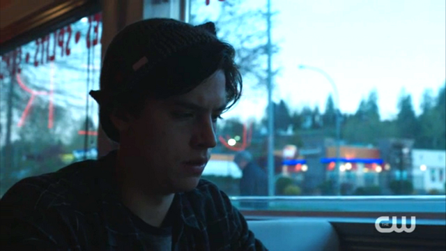 File:Season 1 Episode 2 A Touch of Evil Jughead at Pop's.png