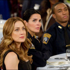 Dr. Maura Isles & Detectives Jane Rizzoli & Barry Frost