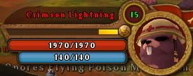 CrimsonLightningBar