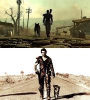Mad max fallout 3 comparison