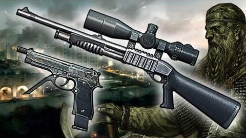 "Bf3 - Sniper Shotgun and 93R Gameplay ""Viking Commentary"""
