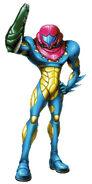 Omega X Fusion Suit Artwork