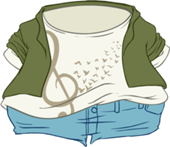 170px-Here Comes Treble clothing icon ID 24154