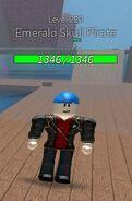 Emerald Skull Pirate(Ranged)