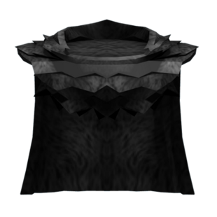 Large Black Cloak