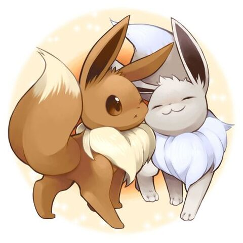 File:Eevee and Shiny Eevee.jpeg