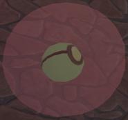 Centipeetle Mother's Gemstone inside a Steven's bubble