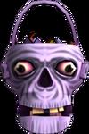 Skull Candy Basket