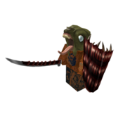 Zombie Tower Warrior Boss