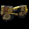 Golden Gears Bow Tie