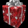 Red Frozen Gift of the Master Developer
