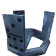 Bluesteel domino crown