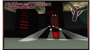-Outpost Pyro- Swampy Moon Outpost