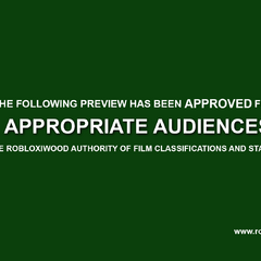 Trailer card (Appropriate Audiences) for E-13 to M ratings