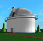 Cosmeos Observatory Exterior