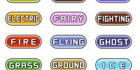 Pokémon types