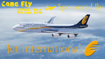 Come Fly with Me Sponsor