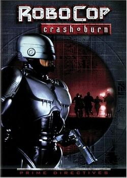 RoboCop Crash Burn cover 1