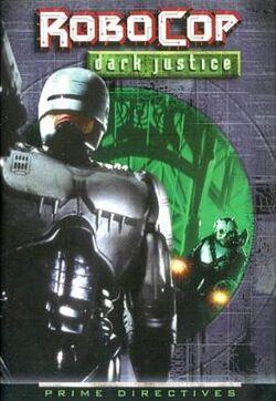 RoboCop Dark Justice cover 1