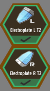 T2 Electroplates